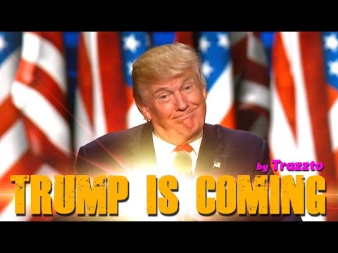 TRUMP IS COMING - Primeras Declaraciones del Presidente Donald Trump