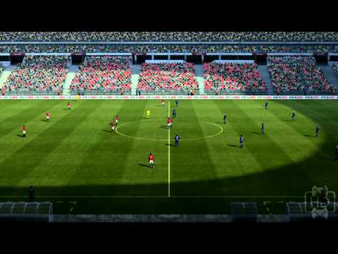 FIFA Soccer 2012 Vs. Pro Evolution Soccer 2012 Graphics Comparison Video XBOX 360 1080P FULL HD