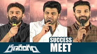 Ranarangam Success Meet | Sharwanand | Sudheer Varma | Top Telugu Media