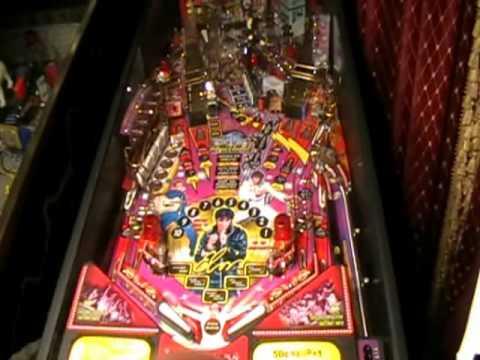 Elvis Pinball Machine Video