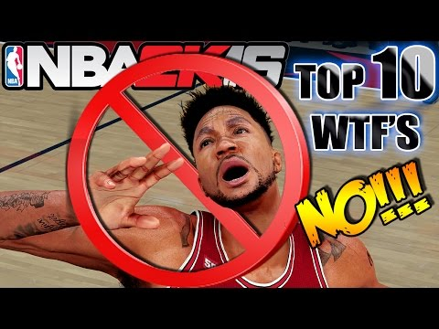 Top 10 WTF's I DON'T Want To See In NBA 2K17 #2