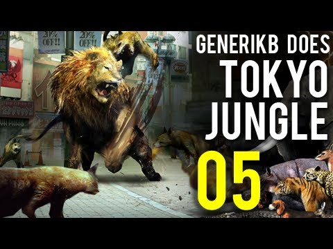 "Generikb Does Tokyo Jungle Ep5 - ""Food Poisoning"""