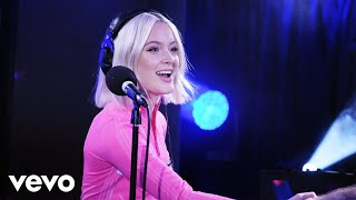 Zara Larsson - Love Lies (Khalid & Normani cover) in the Live Lounge