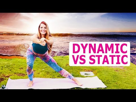 Dynamic Stretching vs Static | Easy Pre-Workout Warm-Up with Booty Bands thumbnail