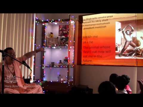 HH Bhanu Swami - Mill Park Home Program - March 2013
