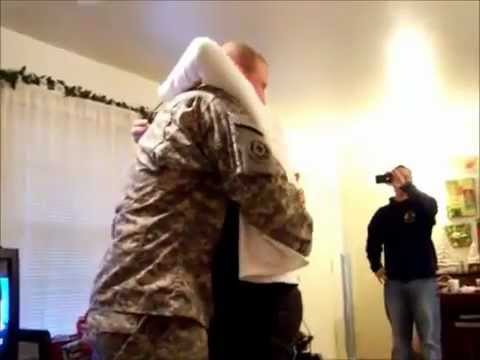Soldiers Surprising Their Loved Ones For Christmas 2011-Part Two