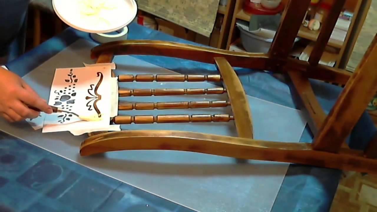 Мастер классы по реставрации стульев 232