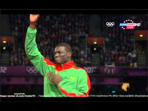 Men's 400m Sprint - Olympics 2012 London - Ceremony Kirani James
