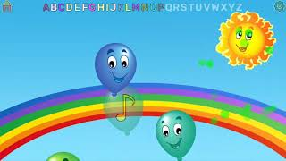 Learn ABC - Very Funny Balloon pop - Must Watch