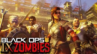 """BLACK OPS 4 ZOMBIES: """"IX"""" EASTER EGG STEPS FOUND! (Call of Duty BO4 Zombies LIVE)"""
