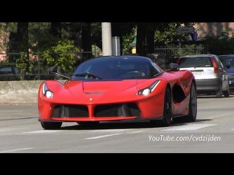 Ferrari Laferrari On The Road Sound Youtube