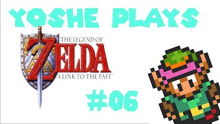 """Legend of Zelda """"A link to the past."""" Episode 06- The tower of pain and holes..."""