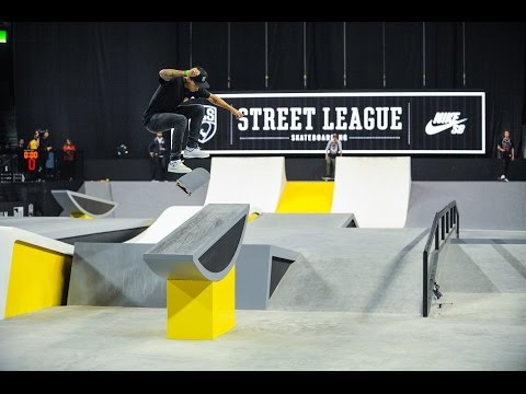 Monster Energy: 2015 Street League Los Angeles, CA