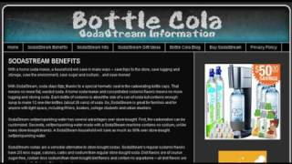 Bottle Cola - SodaStream Information, How to Make a Soda blog and Homemade Energy Drink