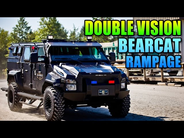 Double Vision - Fully Upgraded Bearcat/CAT Rampage! | Battlefield Hardline Gameplay