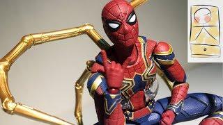 마블 아이언 스파이더맨 어벤져스 인피니티워 SH피규아트 피규어 Marvel IRON SPIDER MAN Avengers Infinity War SHFiguarts Bandai Fi