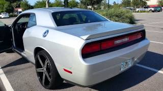 @brichardson0331 - Dodge Challenger on 22 inch Versante 228