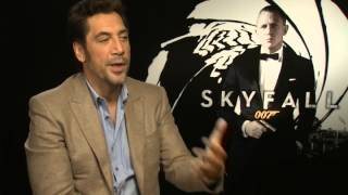 Skyfall - Skyfall: Javier Bardem talks being a Bond baddie and not looking hot
