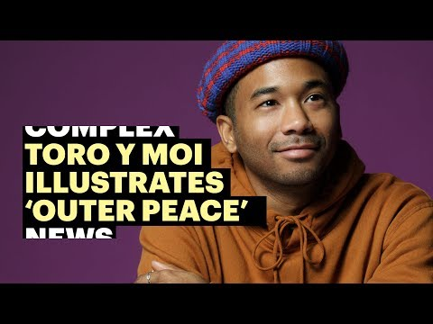 Toro y Moi Illustrates His New Album 39Outer Peace39