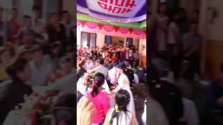 Bé Thành Trung 5 tuổi hát đám cưới tại Ninh Giang - Hải Dương.