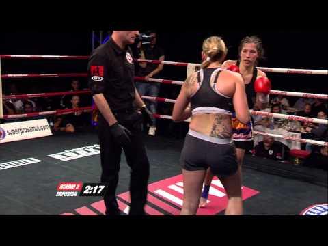 2  Kristy Ooms (Indonesia) vs Marieke Post (The Netherlands)