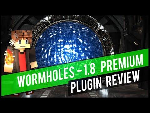 WORMHOLES 📺 BUKKIT / SPIGOT PLUGIN REVIEW   Minecraft Spigot Plugin Vorstellung   1.8 - 1.12
