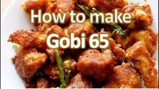 How to Make Cauliflower 65 | Gobi 65 | காலி பிளவர் 65 - Gama Gama Samayal [Epi 58]