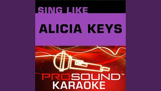 If I Ain 39 T Got You Karaoke Lead Vocal Demo In The Style Of Alicia Keys