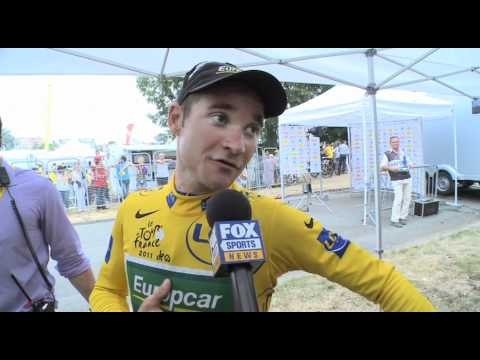 Thomas Voeckler - 2011 Tour de France Stage 10