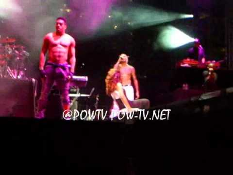 Chris Brown Gives A Girl A Lap Dance A Best Of The Best  Springfest...