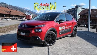 2017 Citroen C3 1.2 Pure Tech Shine | AutoReview | Schweiz | Episode 59 [DE]