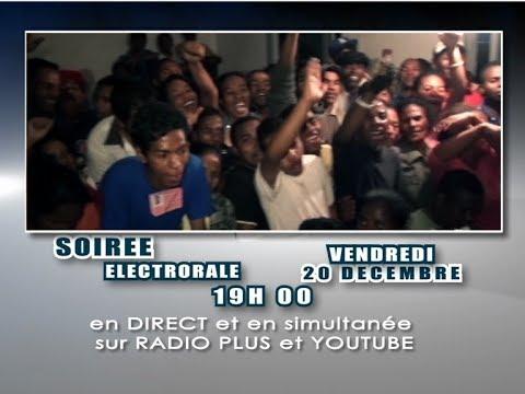 Tv Plus Madagascar Live Soiré électoral