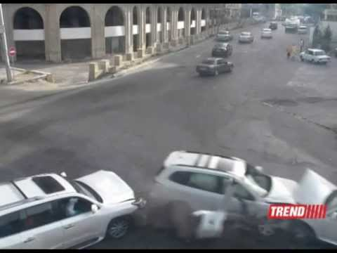 ДТП в Баку - Bakıda YNH