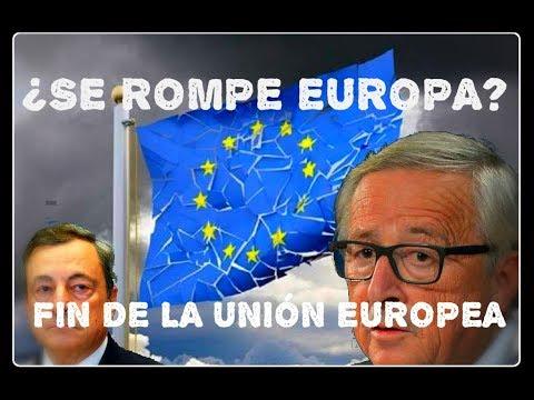 Nacionalismos, Problemas Económicos...¿Fin de la Unión Europea?