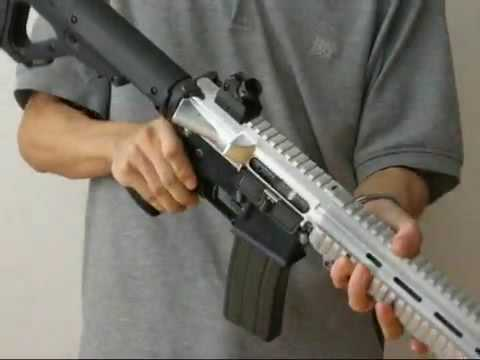 Iron Airsoft H&K 416 GBB Rifle