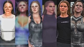 WWE 2K17 - Stephanie McMahon Entrance Evolution! ( Smackdown 2 To WWE 2K17 )