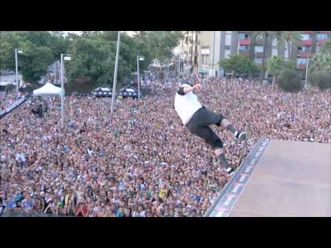 Tony Hawk revoluciona Barcelona