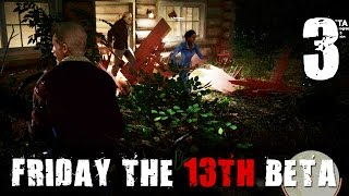 [3] Let's Play Friday The 13th: The Game Beta w/ GaLm