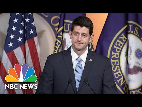 Paul Ryan: Donald Trump Phone Call 'Very Productive' | NBC News