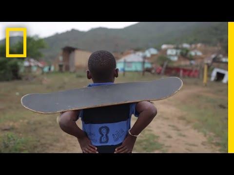 Skateboarding cambia vidas en las zonas rurales de Sudáfrica