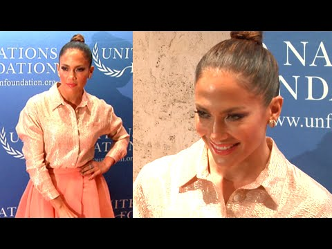 (VIDEO) Jennifer Lopez Looks HOT At The 2015 UN Gender Equality Dinner