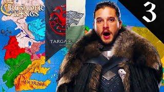 NIGHT`S WATCH CALLS FOR AID Crusader Kings 2: Game Of Thrones: Jon Snow Aegon Targaryen 3
