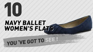 Navy Ballet Women's Flats // New & Popular 2017