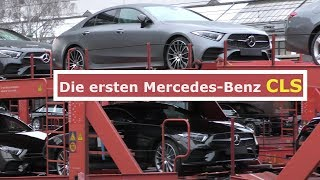 Mercedes Erlkönig - die ersten CLS 2018 #C257 der Serienproduktion - first production cars