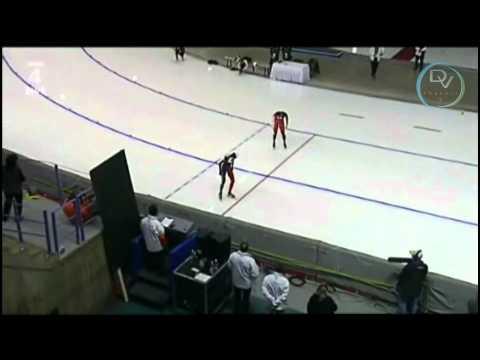 Cindy Klassen & Martina Sáblíková 500m, Calgary 2011
