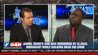 Illegal Alien Murdered my Son: Jamiel Show on the Rick Amato Show