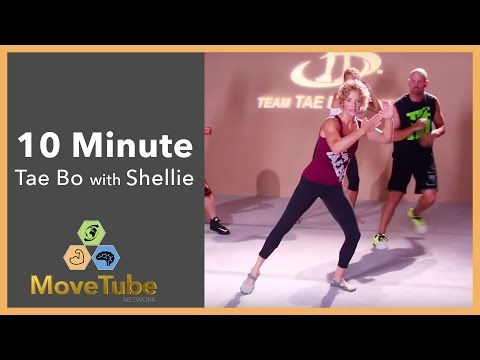 10 Minute Tae Bo Cardio Party with Shellie Blanks Cimarosti
