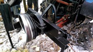 Siekacz do drewna, przecinarka  bębnowa,  rębak  własnej konstrukcji