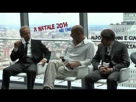 Aldo Giovanni e Giacomo presentano il film di Natale 2014