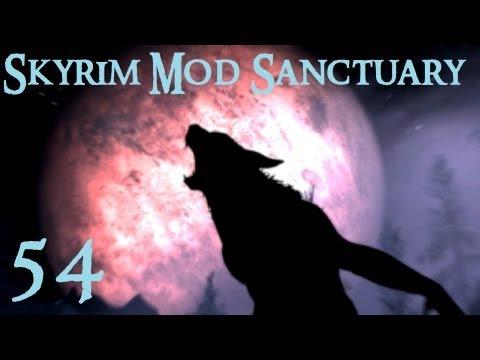 Skyrim Mod Sanctuary 54 : Race Menu